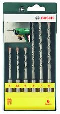 Bosch 6 Piece SDS Plus Drill Bit Set NEW