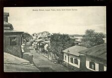West Africa Gold Coast Colony Axim Upper Town Murphy St 1911 PPC