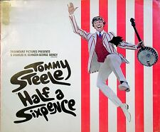 HALF A SIXPENCE 1967 Tommy Steele, Julia Foster, Cyril Ritchard  UK BROCHURE