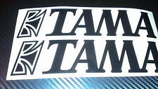 TAMA drums drum kit In Vinile Sticker Decalcomania Logo Scelta di Colori