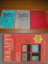 LOTTO 3  CATALOGHI SASSONE 1951-1953-1954 + BOLAFFI 1972