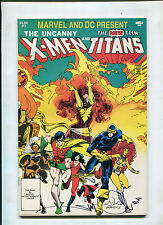 X-MEN AND THE TEEN TITANS #1 (9.2 OR BETTER) 3RD APP. OF DEATHSTROKE SIGNED!!