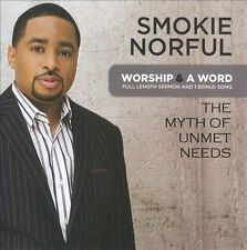Worship & a Word: The Myth of Unmet Needs by Smokie Norful (CD, Mar-2010, CMG...