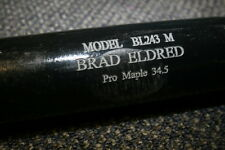 BRAD ELDRED GAME USED BWP MODEL BAT DETROIT TIGERS PITTSBURGH PIRATES