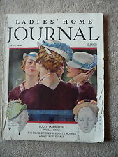 THE LADIES HOME JOURNAL MAGAZINE - APRIL 1934 - ADS FASHIONS STORIES