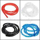 Spiral Cable Wire Tidy Wrap Hide Banding Wire Management for PC Home TV 6-60MM