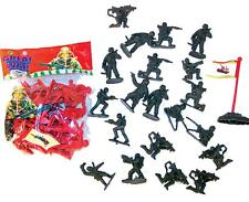 12 MINI MILITARY 20 PC SOLDIER SETS bulk toys #115 army guy classic toy prizes