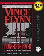 AUDIO BOOKS ON CD,   VINCE FLYNN   TRANSFER OF POWER
