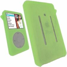 New Silicone Rubber Skin Soft Case Cover-Blue for iPod Classic 80GB 120GB 160GB