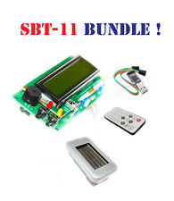 Arduino IDE compatible Geiger counter dosimeter /w LCD shield SBT11 remote USB