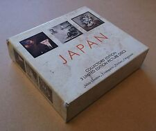 JAPAN Collectors Edition 1990 UK limited 3-picture CD box set UNPLAYED