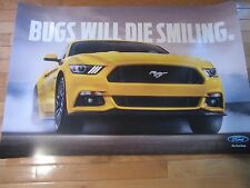 "2015 Ford Mustang poster 50th Anniversary NEW  24"" X 36"""