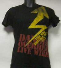 The Who(T Shirt)British Tour 1973 Danger! Over Head Live Wires Black Me-New