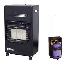 4.2KW Portable Workshop Gas Fire Cabinet Heater Calor LPG Butane Regulator/Hose