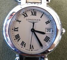 Longines Women's Watch PrimaLuna Stainless Luxury Date Analog L81144716 Swiss