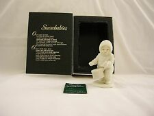 """Dept. 56 Winter Tales Snowbabies """"Shall I Play For You"""" #6820-9 w/Box~Retired"""