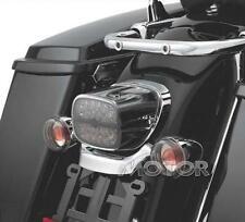 New Smoke Lens LED Tail Brake Light for Harley Touring Street Glide Heritage FL