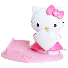 Hello Kitty Magic Mood Light MP3 / Phone Speaker System & Detachable Tray Age 8+