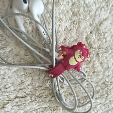 Silicon Cable Wire Earphone Headphone Cable Tie Cord Holder Cartoon Organizer 4
