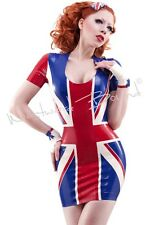 R1318 Rubber Britana Latex Dress *SHOWN* RRP size 12 Westward Bound Couture