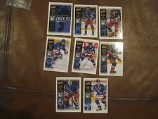 2000  NEW YORK RANGERS - 8 CARD LOT /SET BY VICTORY