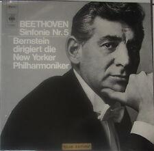 """BEETHOVEN """"Symphonie Nr. 5"""" - Leonard BERNSTEIN - NM-"""