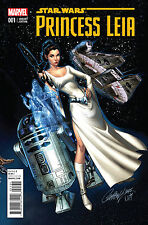 PRINCESS LEIA #1 J SCOTT CAMPBELL CONNECTING C 1:50 VARIANT (Marvel) Star Wars