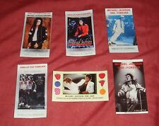 Michael Jackson  - set of 6 MAGNETS  - LOWEST PRICE