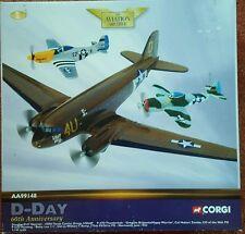 Corgi Aviation Douglas C-47 Skytrain, P-47D Thunderbolt & P-51D Mustang AA99148