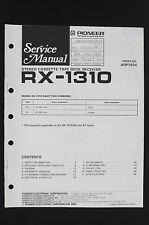 PIONEER RX-1310 Original Tape Deck Receiver Service-Manual/Schaltplan o106