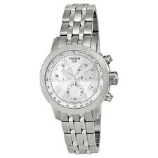 Tissot PRC 200 Chronograph Mother of Pearl Dial Stainless Steel Ladies Watch