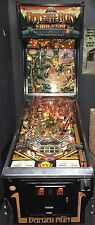 Banzai Run by Williams 2 Playfields Pat Lawlor Rare Pinball machine