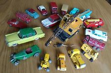 COLLECTION of LESLEY, DINKY, HUSKY & MATCHBOX VEHICLES from 60/70's