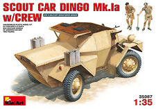 Miniart 1/35 Dingo Mk.1a Scout Car with crew # 35087