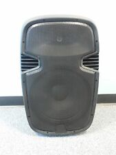 "Professional Portable 15"" Speaker System 150W 4 Ω Ohm EQ USB SD LED BLUETOOTH PA"