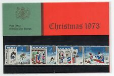 GB 1973 Christmas Presentation Pack VGC. Stamps.