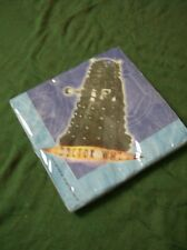 Doctor Who  birthday pack 16 napkins