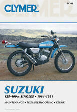 Clymer Repair Service Shop Manual Vintage Suzuki TC/TM/TS/RL 125 250 400