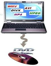 CONVERT BURN RIP ANY MPEG, DIVX, MP4, AVI, WMV TO DVD!!