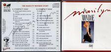 THE MARYLIN MONROE STORY 2 CD Box Set MADE in ITALY 1988 stampa ITALIANA