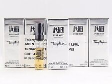 THIERRY MUGLER A MEN PURE MALT CREATION 2013 1.5ml .05oz x 10 COLOGNE SAMPLES