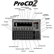 ProCD2 for Windows®  The BEST CD Player App Ever.   NIB.  The Player for Pros!