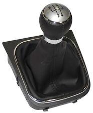 Pommeau soufflet et cadre de levier de vitesse 5 Vitesses pour VW Golf 5 Plus 6
