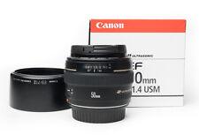 Canon EF 50 mm f/1.4 USM Obiettivo molto ben tenuto in OVP!