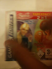 Barbie SuperPack Secret Agent + GROOVY GAMEBOY ADVANCE    gba NUOVO ITA