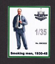 bm3522/ BALATON Modell - Rauchender Mann aus den 1940ern - Resin - 1/35 - TOPP