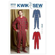 Kwik Sew K3713 Pajamas Sewing Pattern, Size S-M-L-XL-XXL, New, Free Shipping