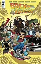 Back To The Future #4 Subscription Var Nm Idw Comic - Vault 35