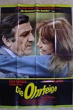(P167) KINOPLAKAT A0 Die Ohrfeige (1974) Lino Ventura, Annie Girardot, Isabelle
