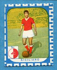 CALCIATORI NANNINA 1961-62 -Figurina-Sticker - SICILIANO - BARI -New